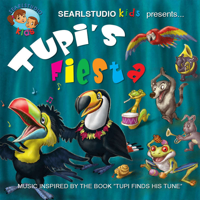 """Tupi's Fiesta"" Music composed and performed by Stephan Earl"