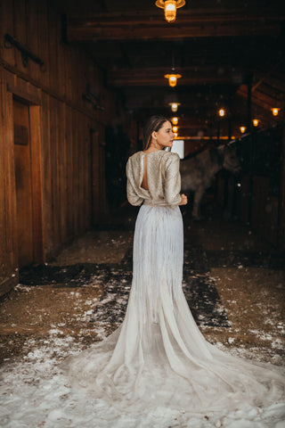 Not Your Average Maid Bridesmaids Gown