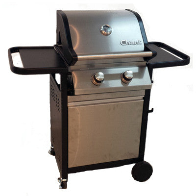 BQ132 Twin - 2 Burner Gas BBQ