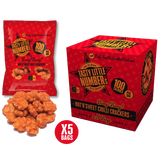 #25 100 Calorie Hot 'N' Sweet Chilli Crackers | 5 Bags Per Cube