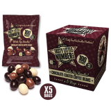 #21 100 Calorie Chocolate-Coated Coffee Beans | 5 Bags Per Cube