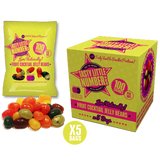 #24 100 Calorie Fruit Cocktail Jelly Beans | 5 Bags Per Cube