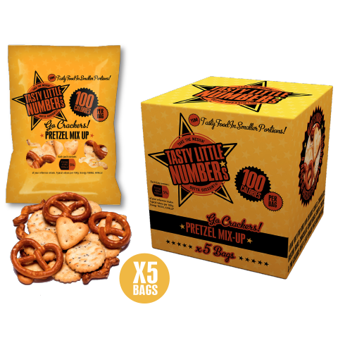#27 100 Calorie Pretzels Mix-Up | 5 Bags Per Cube