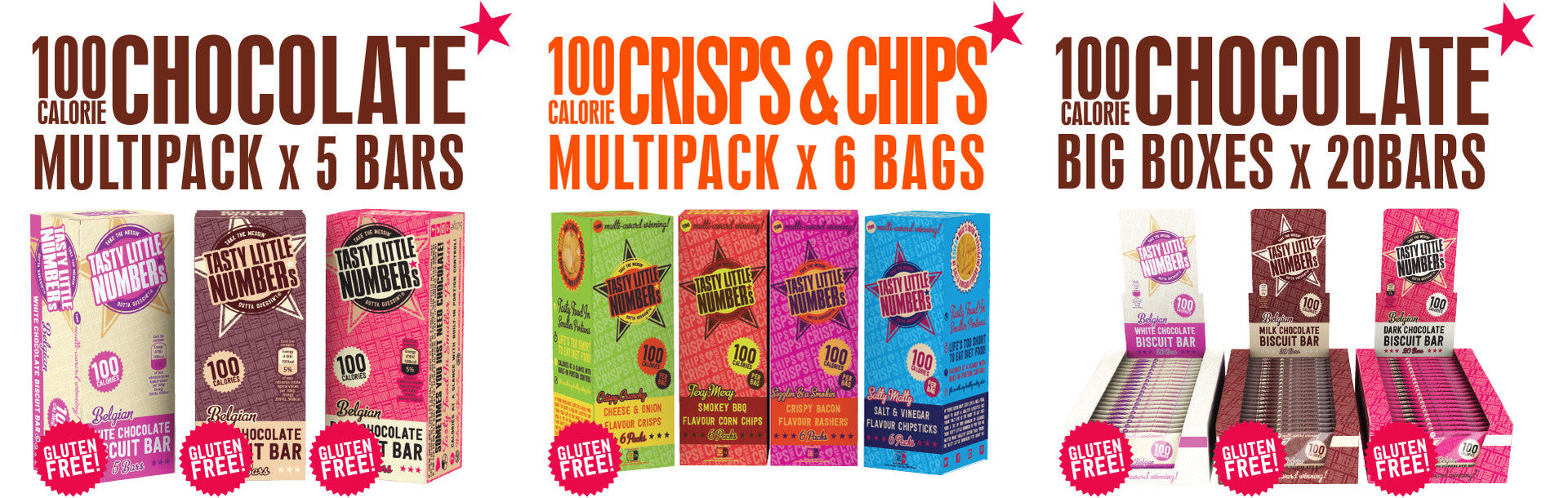 100 AND 200 CALORIE MULTI-PACKS! BIG BOXES TO STOCK UP ON!