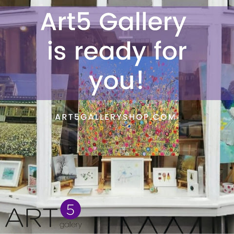 Art5 Gallery is ready for you!