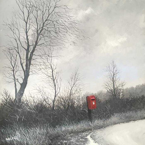 A Country Post Box Art Title - Online Art Shop Brighton, UK