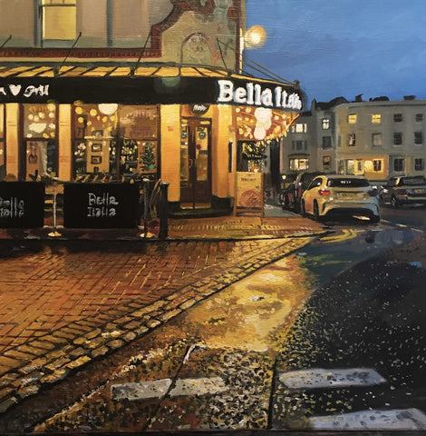 Bella Italia II Art Title - Online Art Shop Brighton, UK