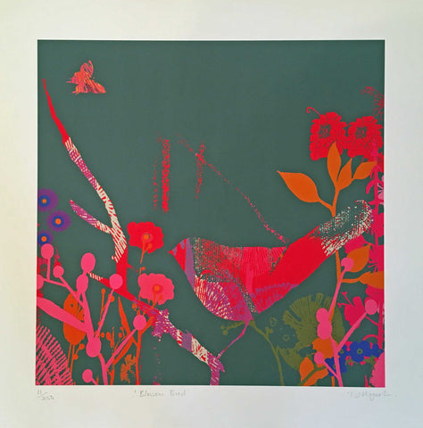 Blossom Bird Art Title - Online Art Shop Brighton, UK
