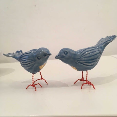 Blue Love Bird Art Title - Online Art Shop Brighton, UK