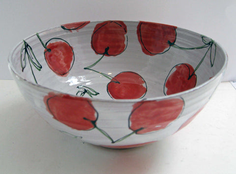 Cherry Bowl Art Title - Online Art Shop Brighton, UK