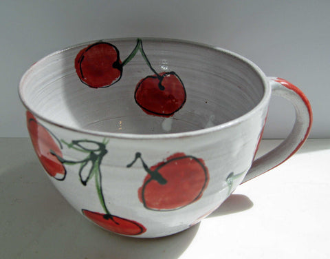 Cherry Cup Art Title - Online Art Shop Brighton, UK