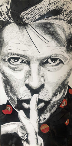 David Bowie Art Title - Online Art Shop Brighton, UK