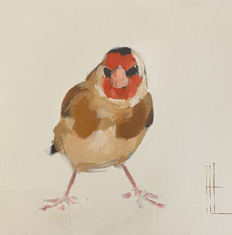 Goldfinch Art Title - Online Art Shop Brighton, UK