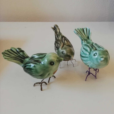 Green Love Bird Art Title - Online Art Shop Brighton, UK