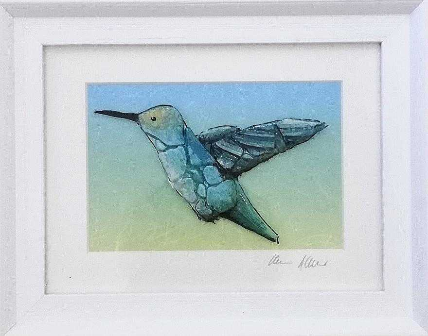 Hummingbird Art Title - Online Art Shop Brighton, UK