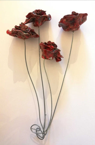 Ceramic Rose (Single) Art Title - Online Art Shop Brighton, UK