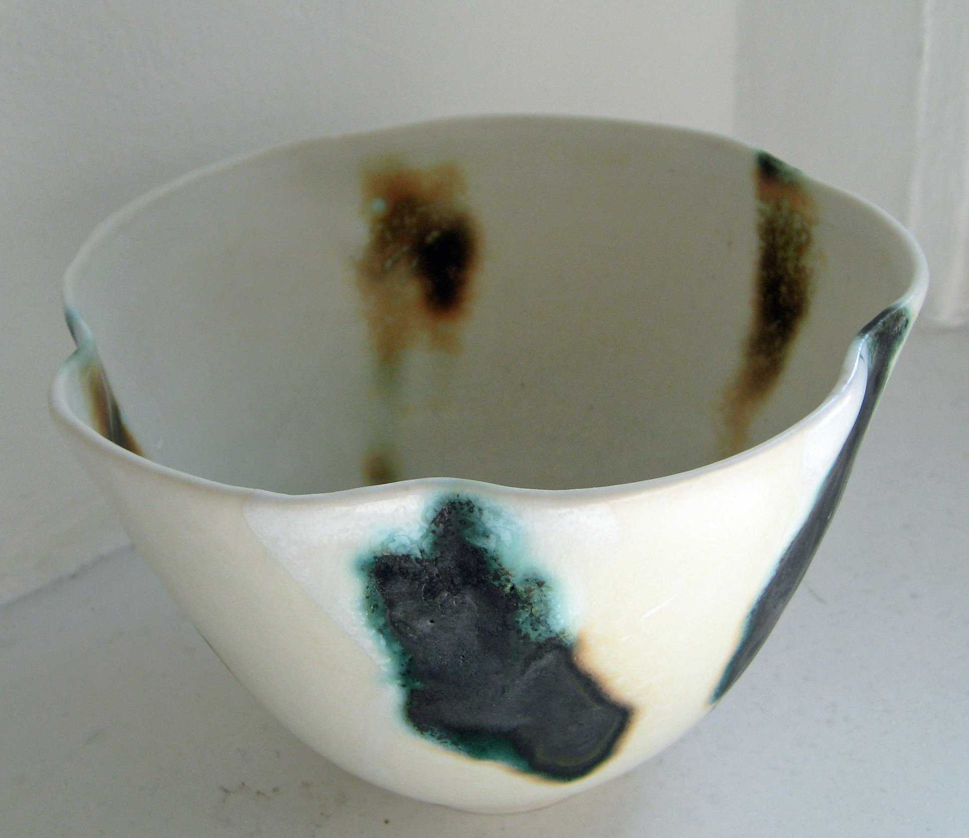 Coastal Fluted Bowl