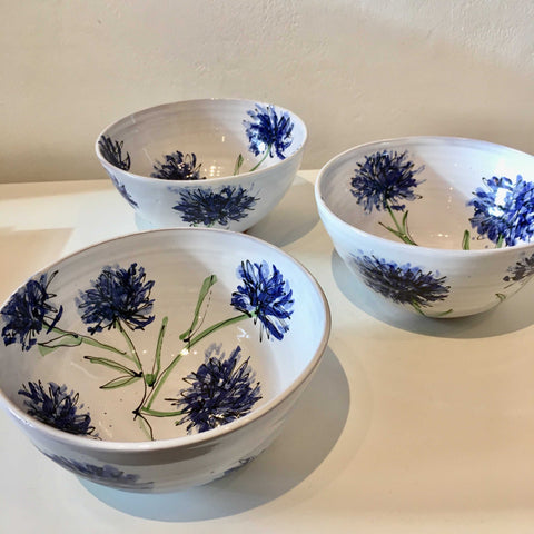 Cornflower Bowl Art Title - Online Art Shop Brighton, UK