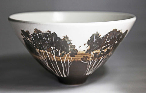 Medium Landscape Bowl Art Title - Online Art Shop Brighton, UK