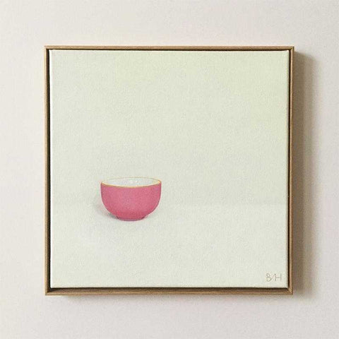 Little Pink Bowl Art Title - Online Art Shop Brighton, UK