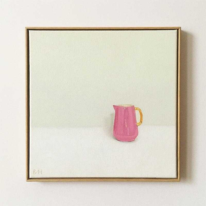 Little Pink Jug Art Title - Online Art Shop Brighton, UK