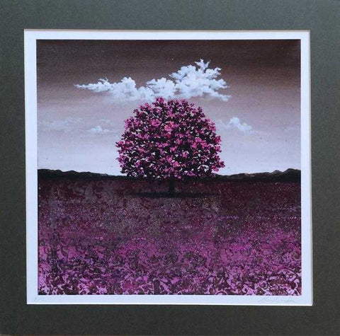 Lone Purple Tree II