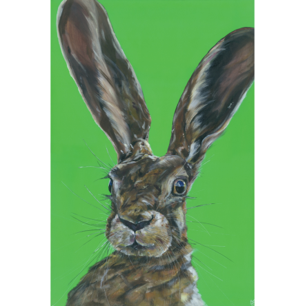 Mad Hare Day Art Title - Online Art Shop Brighton, UK