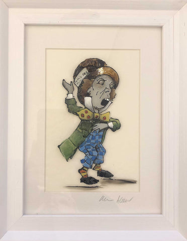 Mad Hatter Art Title - Online Art Shop Brighton, UK