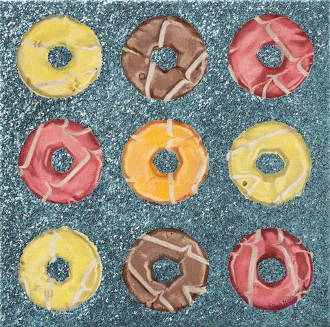 9 Party Rings Art Title - Online Art Shop Brighton, UK