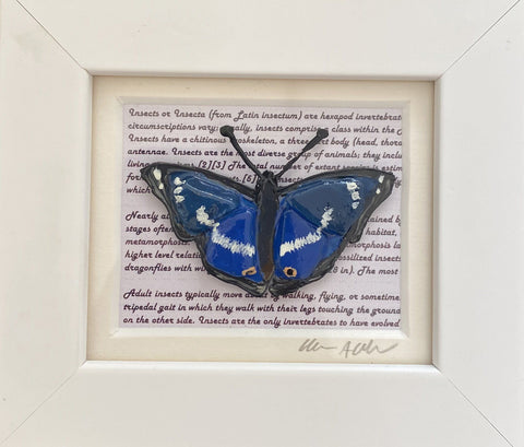 Small Butterfly Art Title - Online Art Shop Brighton, UK