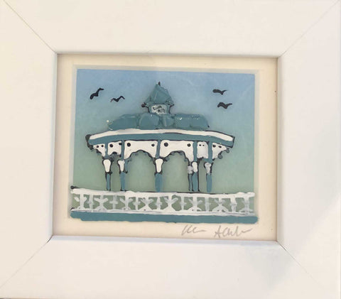 Small Bandstand Art Title - Online Art Shop Brighton, UK