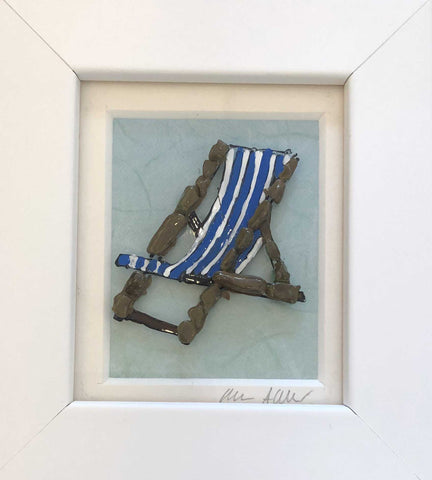 Small Blue Deckchair