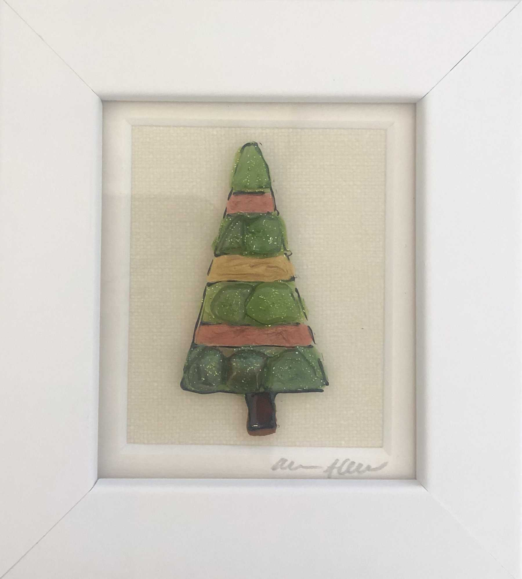 Small Christmas Tree Art Title - Online Art Shop Brighton, UK