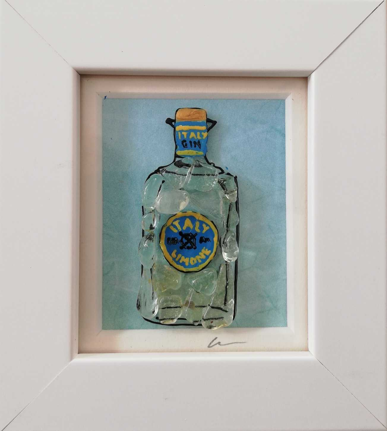 Small Gin Art Title - Online Art Shop Brighton, UK