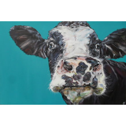 Spotty Cow Art Title - Online Art Shop Brighton, UK