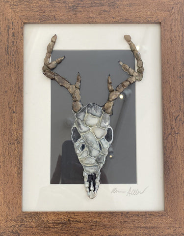 Stag Skull Art Title - Online Art Shop Brighton, UK