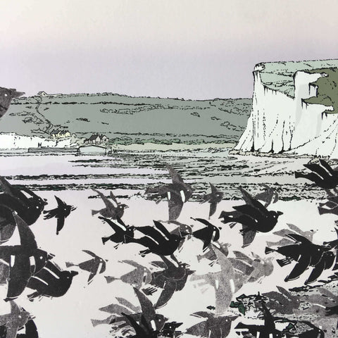 Birling Gap Starling Murmuration Eventide