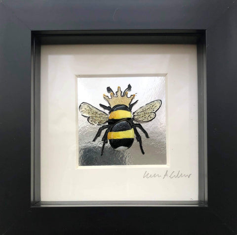 Boxy Silver Queen Bee