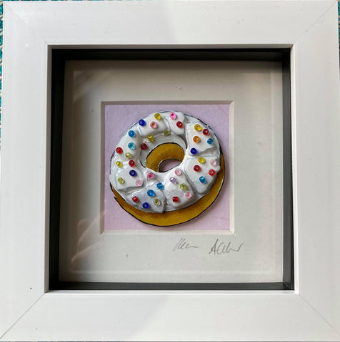 Boxy Doughnut with Sprinkles