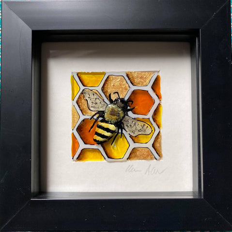 Boxy Honeycomb Bee II