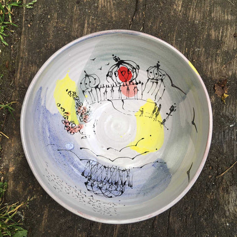 Small Brighton Bowl Art Title - Online Art Shop Brighton, UK