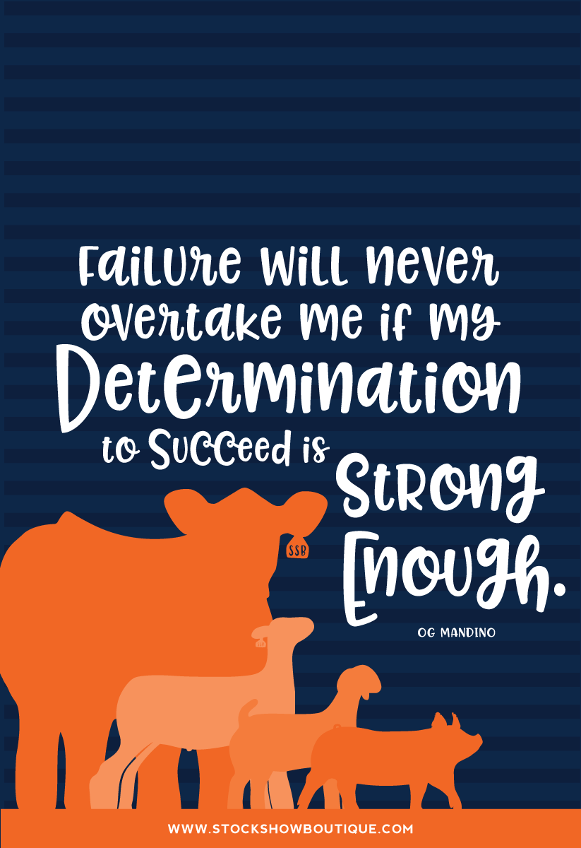 Inspired Quotes • Determination
