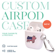 Custom Made - Airpod Case- Livestock Gifts - Stock Show Boutique