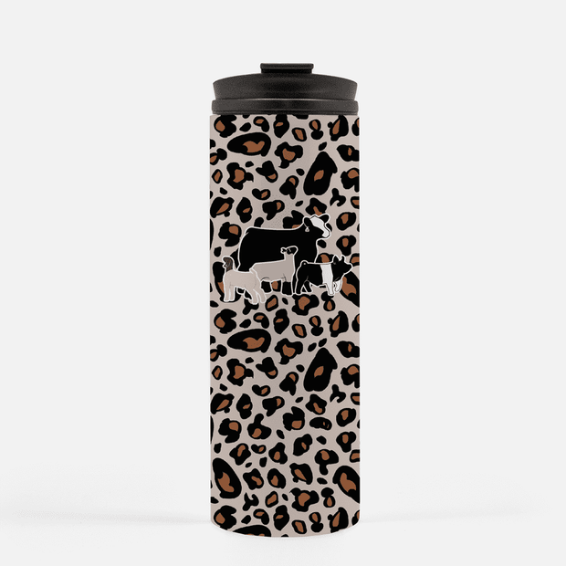 Custom Livestock 16 oz Thermal Cup- Livestock Gifts - Stock Show Boutique