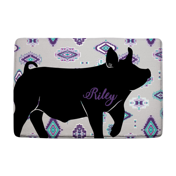 Custom Made - Bath Mat- Livestock Gifts - Stock Show Boutique