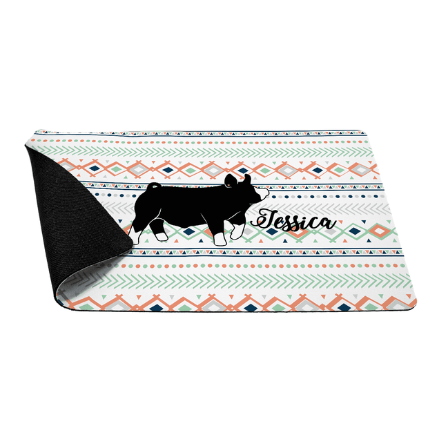 Custom Made - Desk & Table Mat- Livestock Gifts - Stock Show Boutique