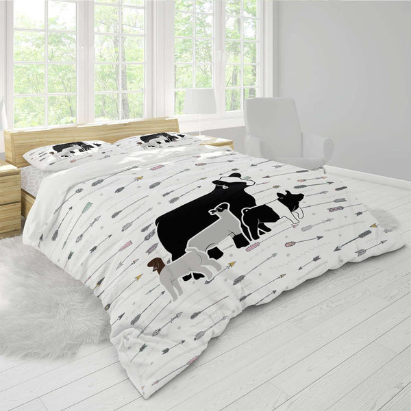 Custom Made - Duvet Cover- Livestock Gifts - Stock Show Boutique
