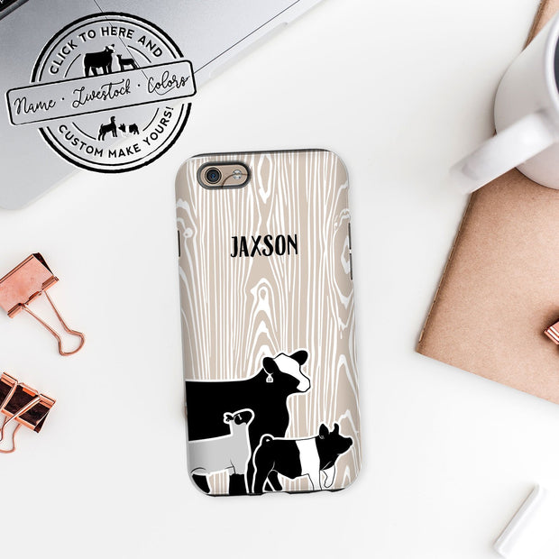 Custom Made - iPhone Case- Livestock Gifts - Stock Show Boutique