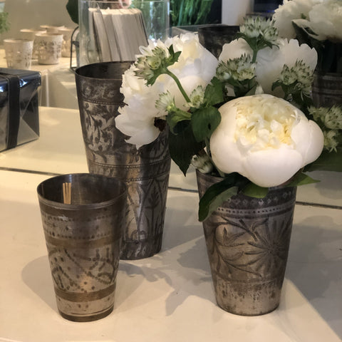 Antique Lassi Cups