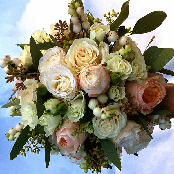 Peachy Perfection Bouquet Amanda Austin Flowers